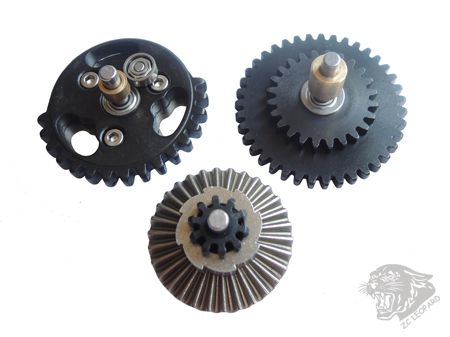 Positive view of  3mm Steel CNC Bearing Gear Set 13:1