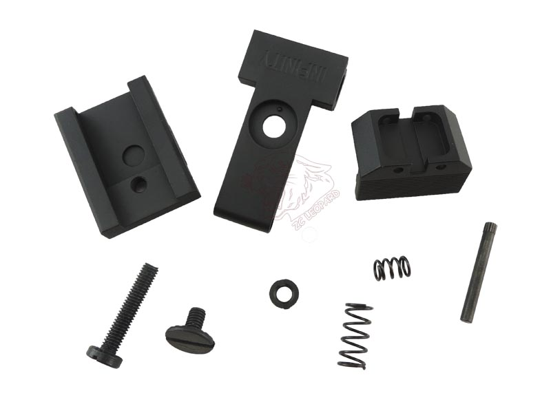 The parts for Black Rear Sight for Tokyo Marui Hi-Capa 5.1 Series