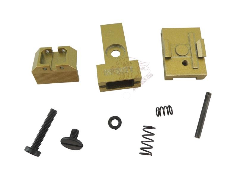 The parts for golden Rear Sight for Tokyo Marui Hi-Capa 5.1 Series
