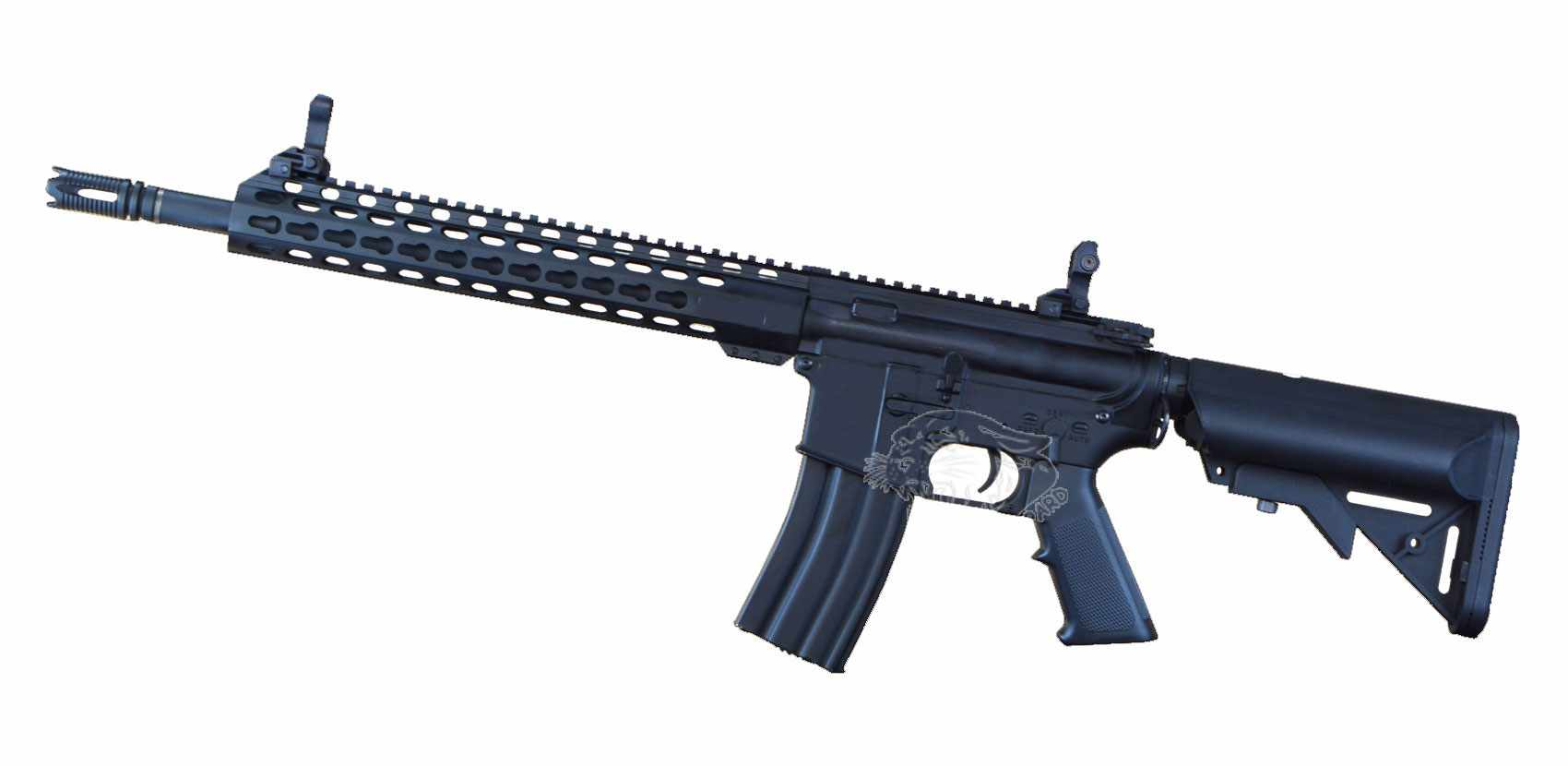 The left view for airsoft guns